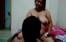 BBW Desi chick takes cock