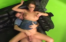 MILF in glasses loves to ride