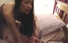 Filipina Riding Her Hubby